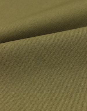 {[en]:Khaki cotton twill fabric}