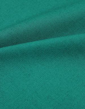 Cotton twill fabric ''Dark emerald''