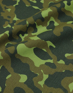 {[en]:Camouflage cotton twill fabric}