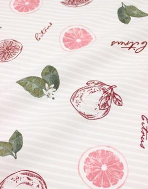 {[en]:Panama weave cotton ''Grapefruit''}
