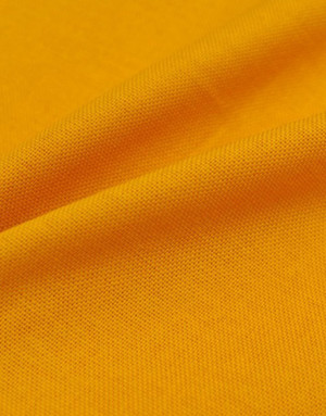 {[en]:Orange Panama weave cotton}