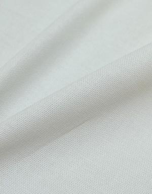 {[en]:Pearly grey Panama weave cotton}