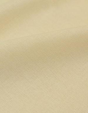 {[en]:Creme brule Panama weave cotton }