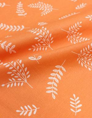 {[en]:Poplin cotton fabric ''Forest fairy tale''}