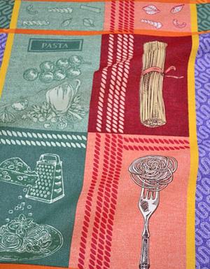 {[en]:Panama weave cotton ''Festival of tastes''}
