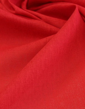 {[en]:Cotton fabric ''Red''}