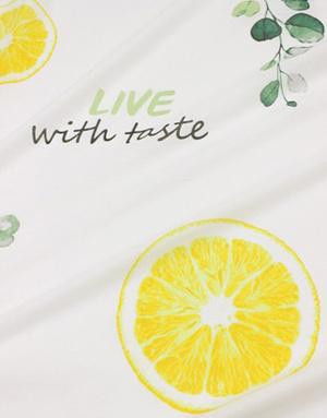 {[en]:Cotton fabric ''Citrus fresh''}