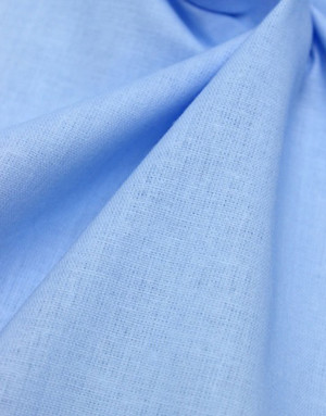 {[en]:Cotton fabric ''Light Blue''}