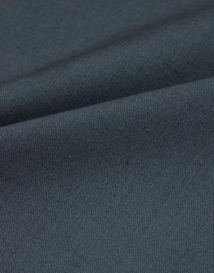 {[en]:Dark grey cotton twill fabric}