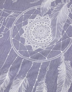 {[en]:Percale fabric ''Dream catcher''}