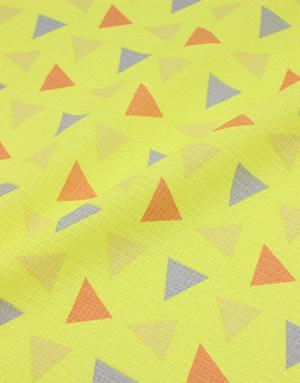 {[en]:Waffle fabric ''Triangles''}