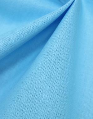 {[en]:Cotton fabric ''Light Turquoise''}