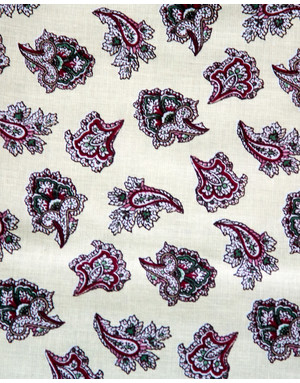 Russian textile for bedclothes ''Buhara''