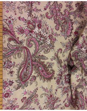{[en]:Bohemian fabric by the yard Eastern cucumbers}