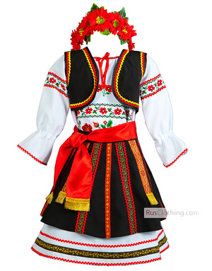 Moldovian costume