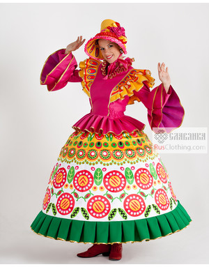 Professional dance dress Russia