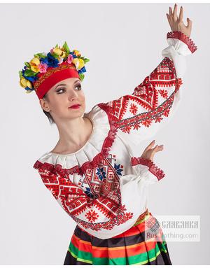 Traditional dance dress Belarus