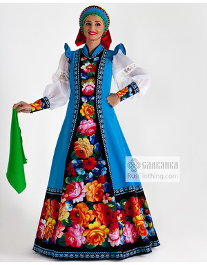 National dress Russia