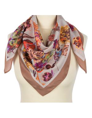 Silk shawl ''Summer evening''
