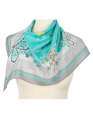 Silk scarf ''Rhinestones''