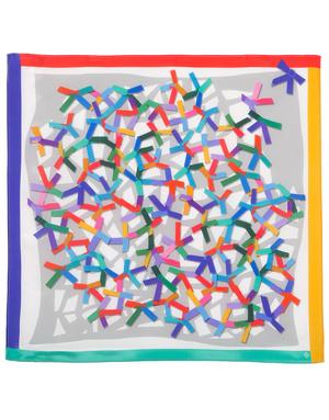 Silk scarf ''Application''