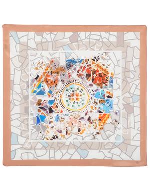 Silk scarf ''Mosaic''
