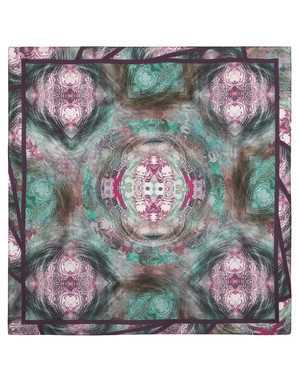 Silk shawl ''Ornamental''