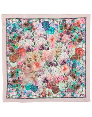 Silk scarf ''Flower Fairy''