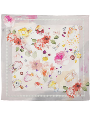 Silk scarf ''Fragrance''