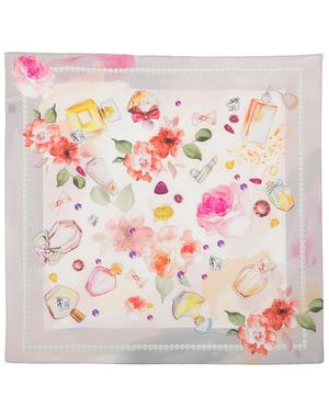 Silk scarf ''Fragrance''