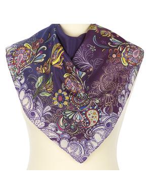 Silk scarf ''Spring''