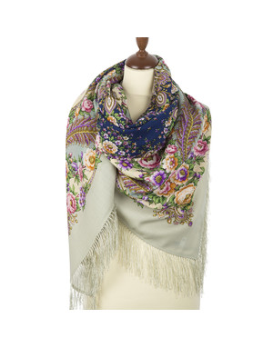 Wool shawl ''Princess''