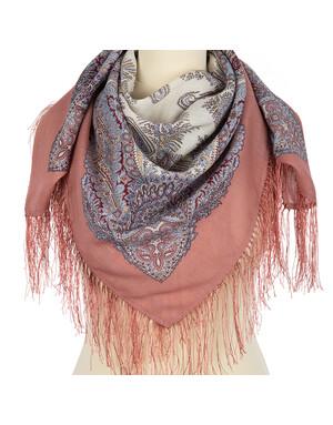 Wool shawl ''Souvenir''