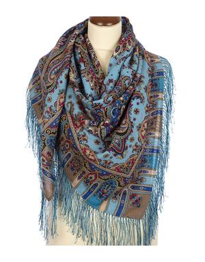 Wool shawl ''The Dream''