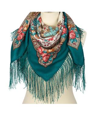 Wool shawl ''Airy Mood''