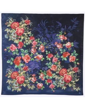 Silk shawl ''Roses''