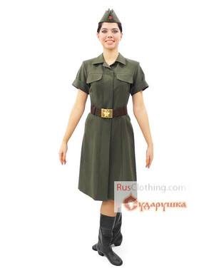 Red Army uniform WWII