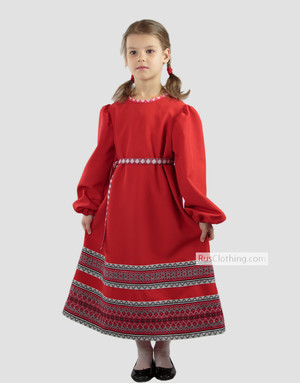 Boho dress for girls