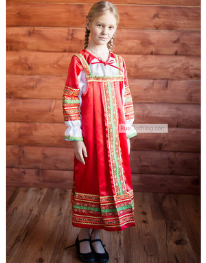 sarafan dress for girls