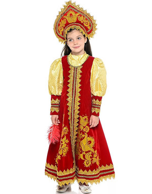 Russian dress ''Barinya ''for girls