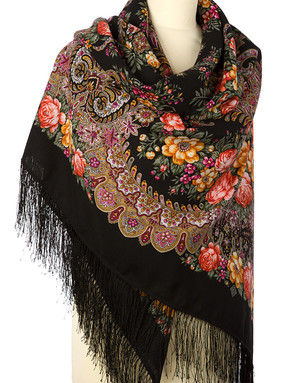 Wool shawl ''Ladoga''