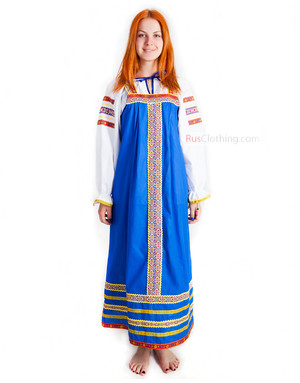 Khorovod dance sarafan