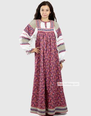 Russian dress Yaroslava