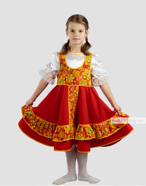 russian dance costume
