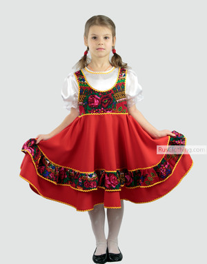 russian folk dancing dress