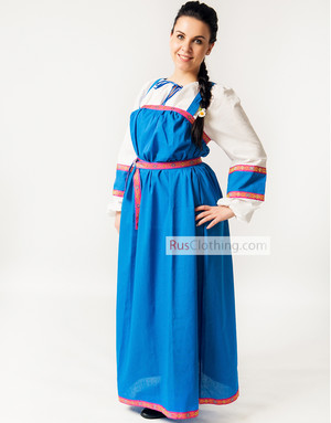 5dfe31c6d15 Russian sarafan   Marfa   with a blouse