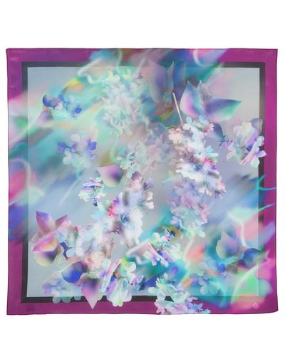 Foulard en soie ''Tender Lilac''
