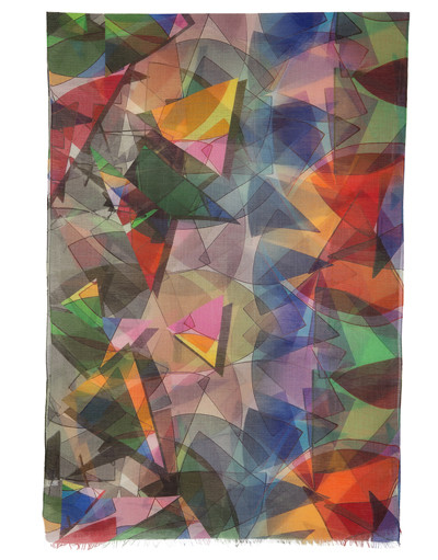 Shawl Wrap ''Kaleidoscope''