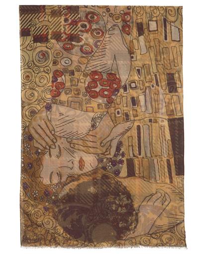 Shawl Wrap ''The kiss''