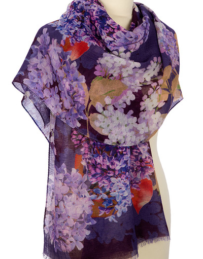 Châle Wrap ''Lilac''